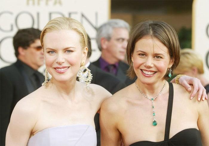 Николь Кидман с сестрой Антонией
