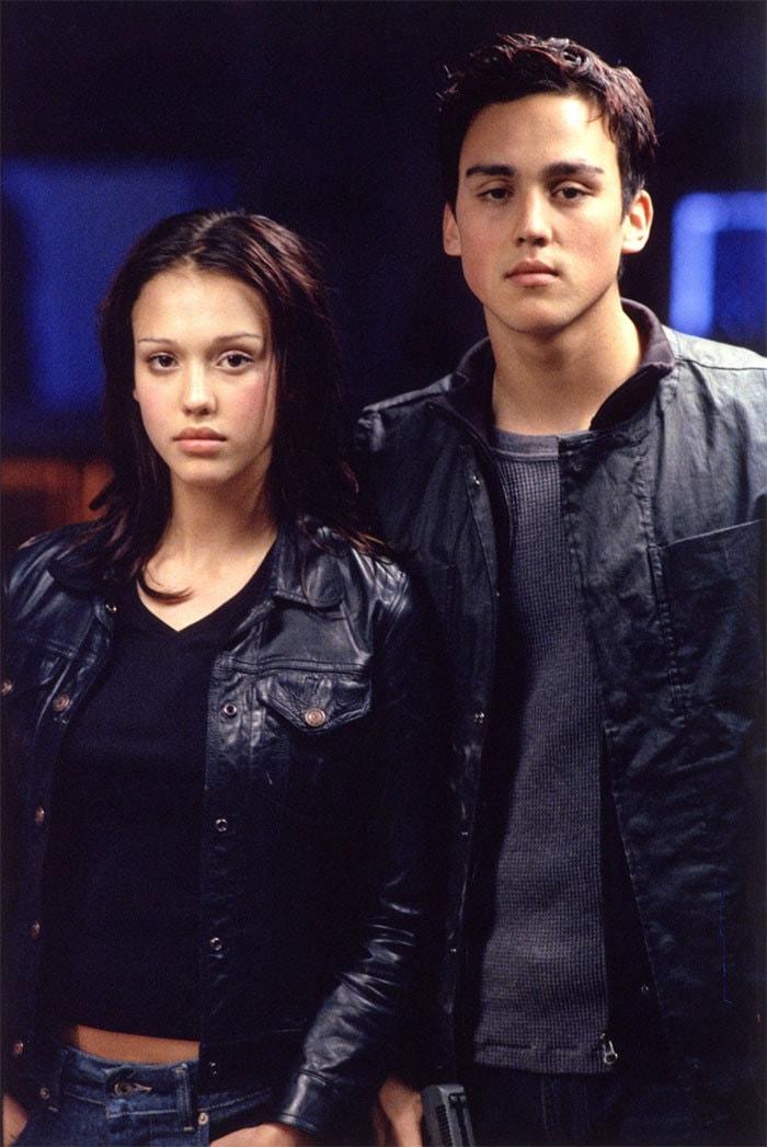 Джессика Альба с братом Джошуа