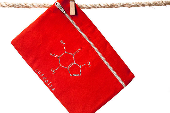 Caffeine Molecule Pencil Case