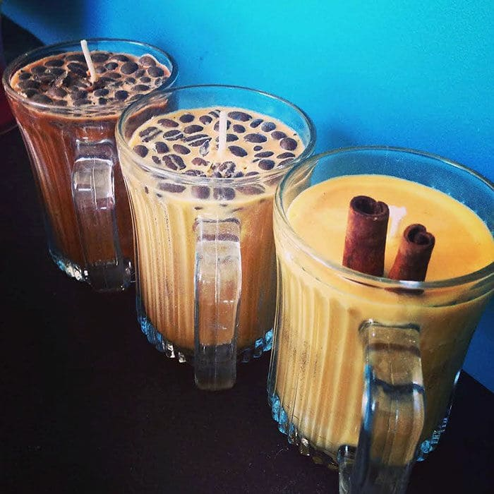 Coffee Mug Candles