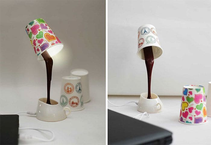 Coffee Cup Desk Lamp