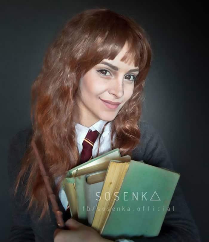 Hermiona Granger, Harry Potter