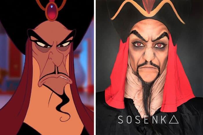 Jafar, Aladdin, Disney