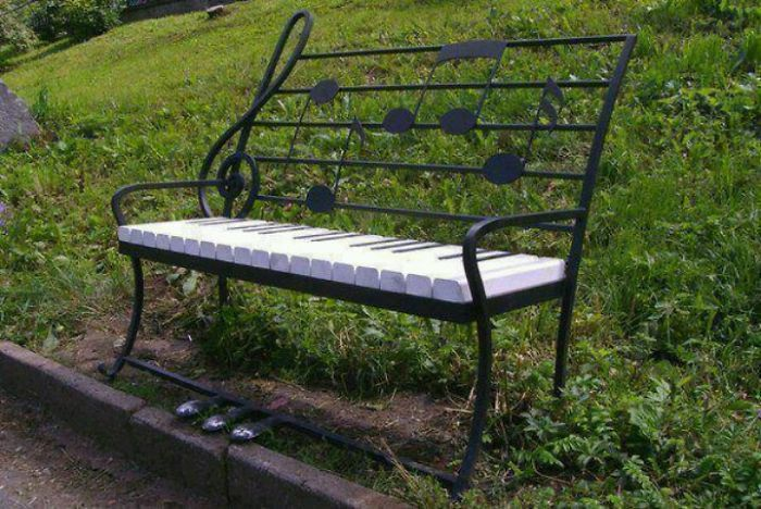 Musical Bench