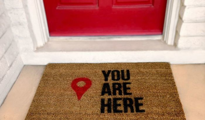 Add A Little Technology To Your Doormat
