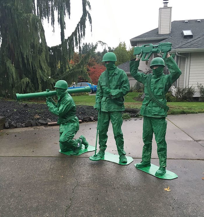 My Son And Nephews Winning At Halloween