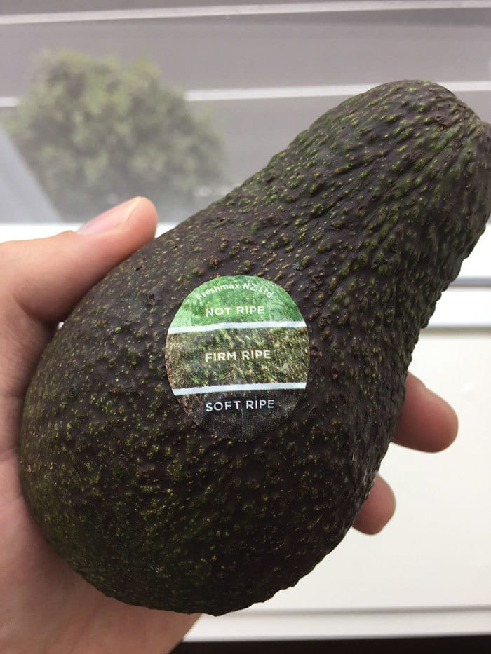 My Avocado Has A Color Chart On The Sticker, So You Know When It