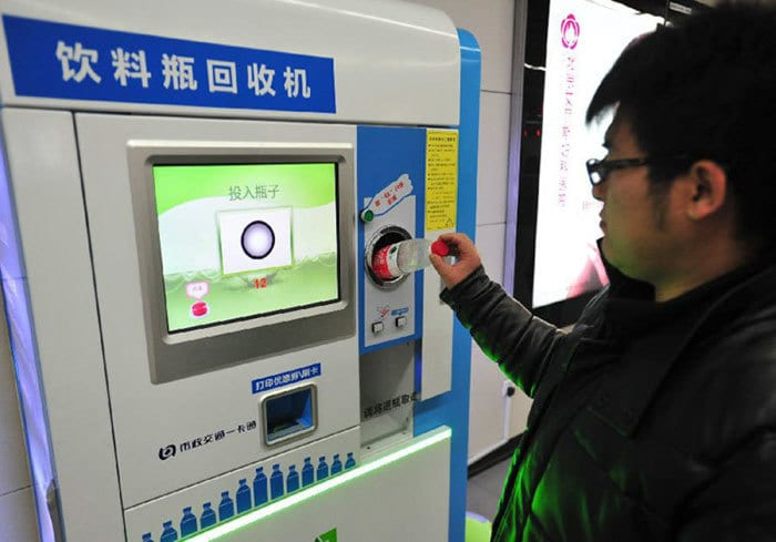 Beijing Subway Allows Riders To Pay With Plastic Bottles