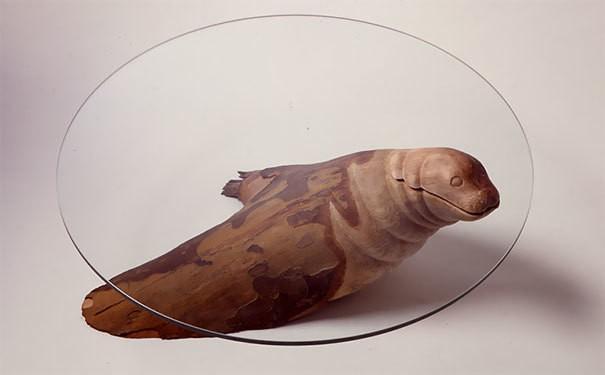 творческие Столы-вода-животных-Дерека-Pearce-2