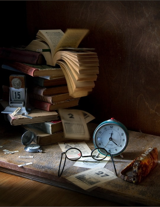Фото-натюрморты Александра Сенникова. День за днём.