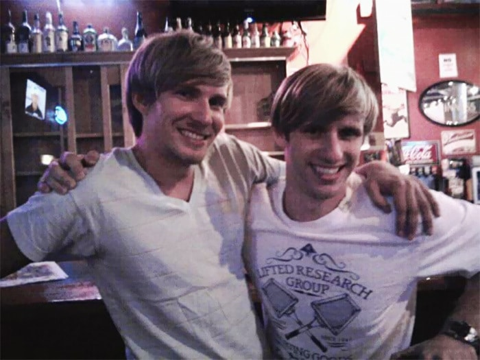 I Met My Twin Brother From Another Mother At The Bar. His Name Is Adam And He Also Likes Beer