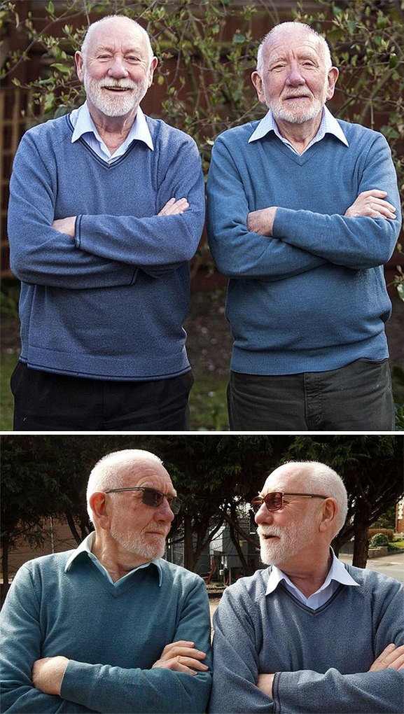 """When Retired Priest Neil Richardson Moved To Essex He Found People Kept Coming Up To Him To Say """"Hello John"""" - Because His Double Already Lived There"""