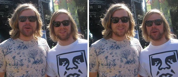My Own Doppelganger That I Ran Into At A Music Festival, Plus A Face-Swap Of The Photo