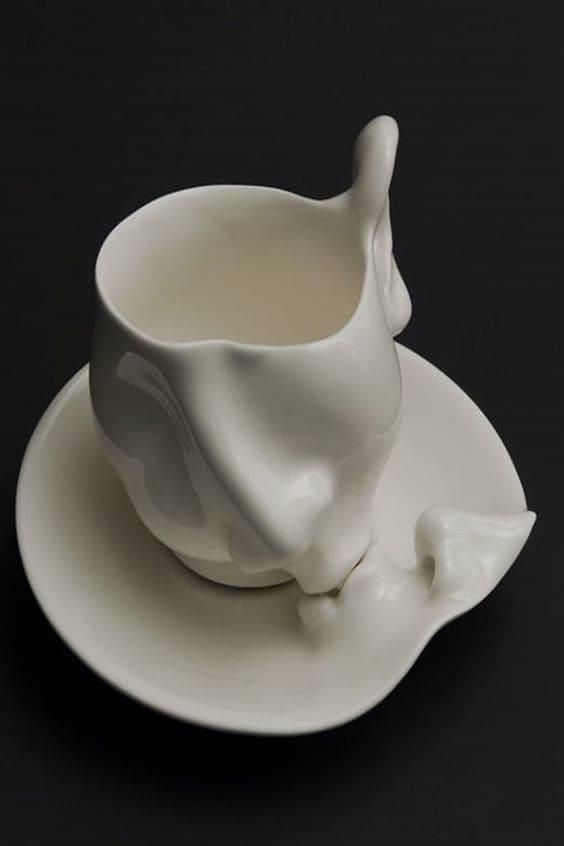 Для влюбленных интересно, искусство, кружки, удивительно, чашки