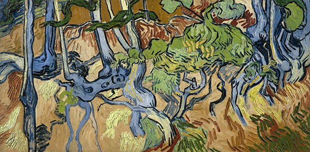 Vincent Van Gogh: Tree Roots (1890)