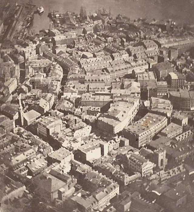 what is the first aerial photograph