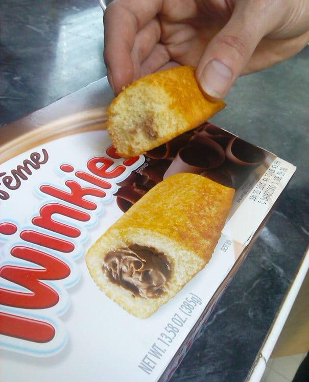 Chocolate Filled Hostess Twinkies