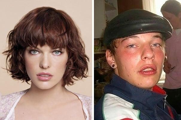Russian Male Version Of Milla Jovovich