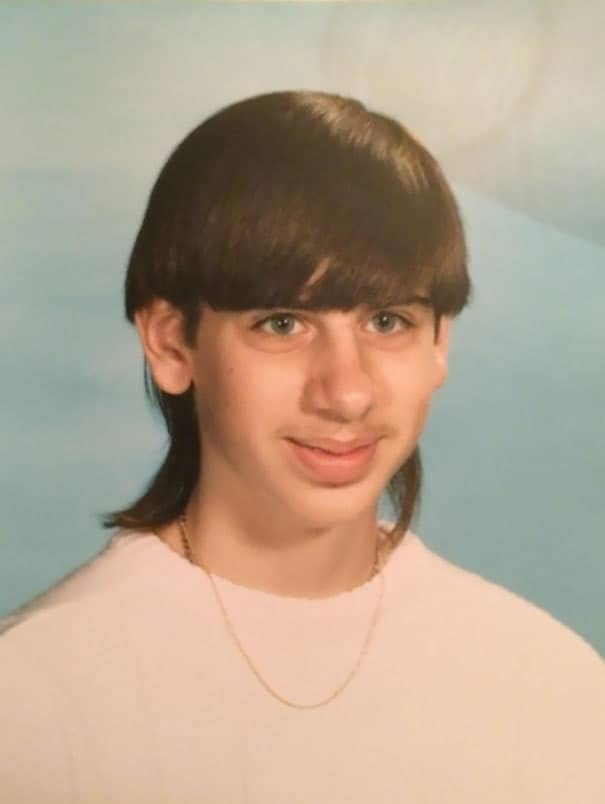 Boyfriend In 8th Grade, Sporting A Mullet/bowl Cut