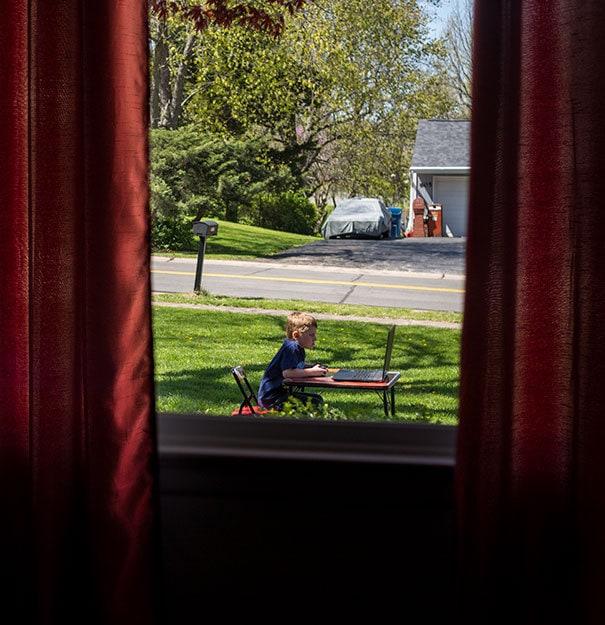 Не совсем то, что я имел в виду, когда я говорил своему сыну, это было очень приятно играть в игры внутри