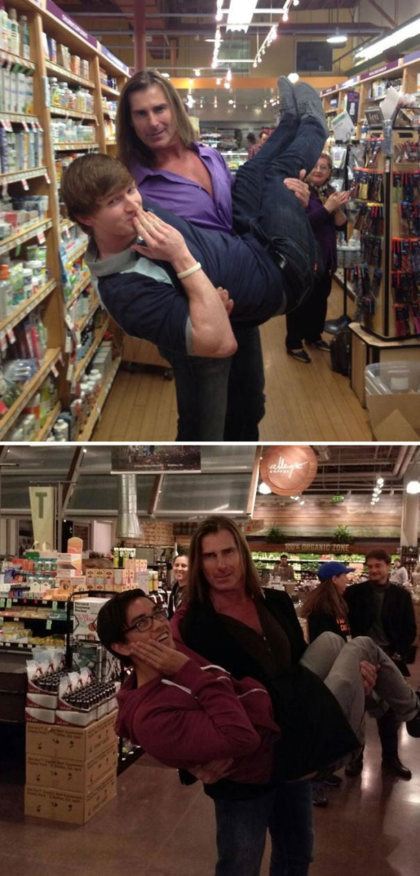 A Buddy Of Mine Met Fabio, It