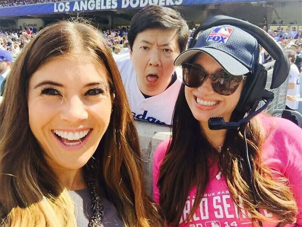 An Epic Photo Bomb By Ken Jeong