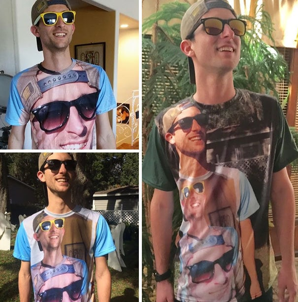 """""""Shirtception"""" - My Favorite Christmas Gift Every Year From My Brother. Right Now We"""