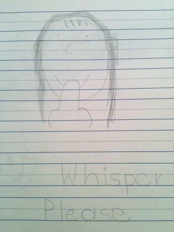 Найдено чертежом я сделал как ребенок. Я немного Bothered