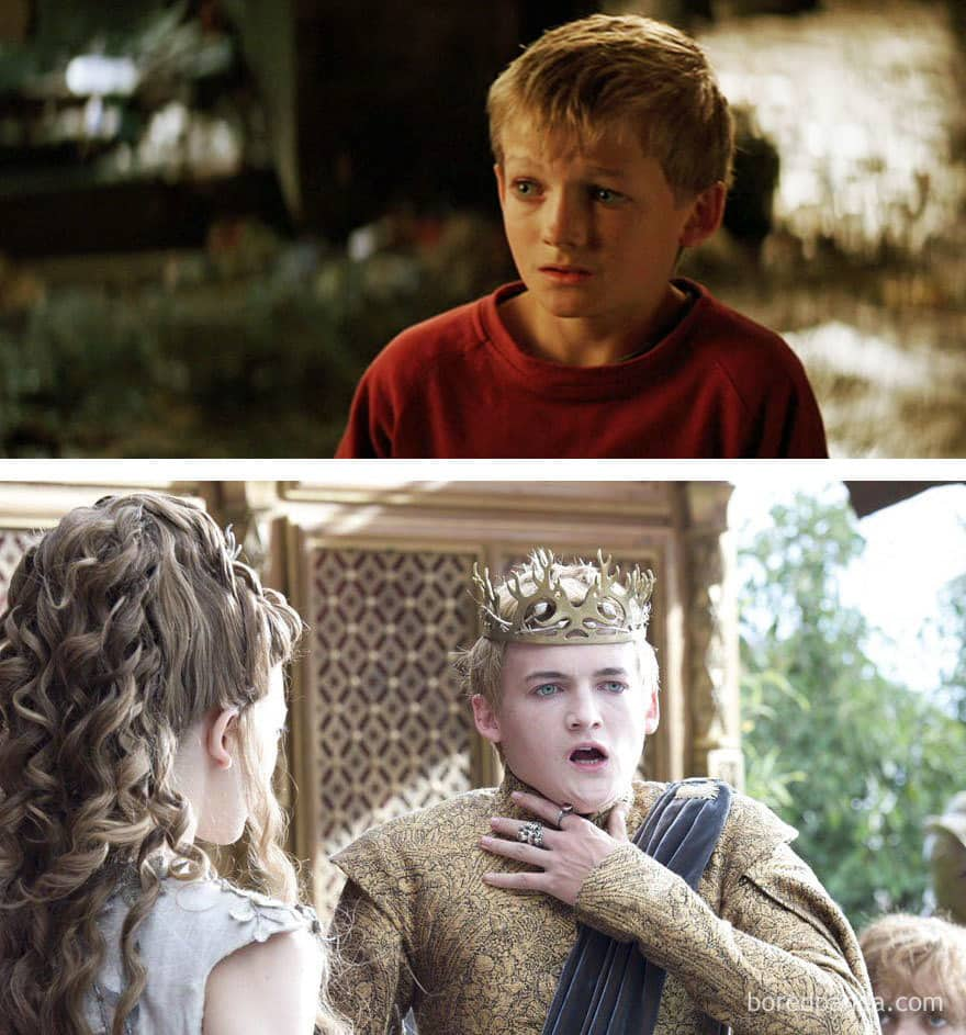 Jack Gleeson As Little Boy (in 2005