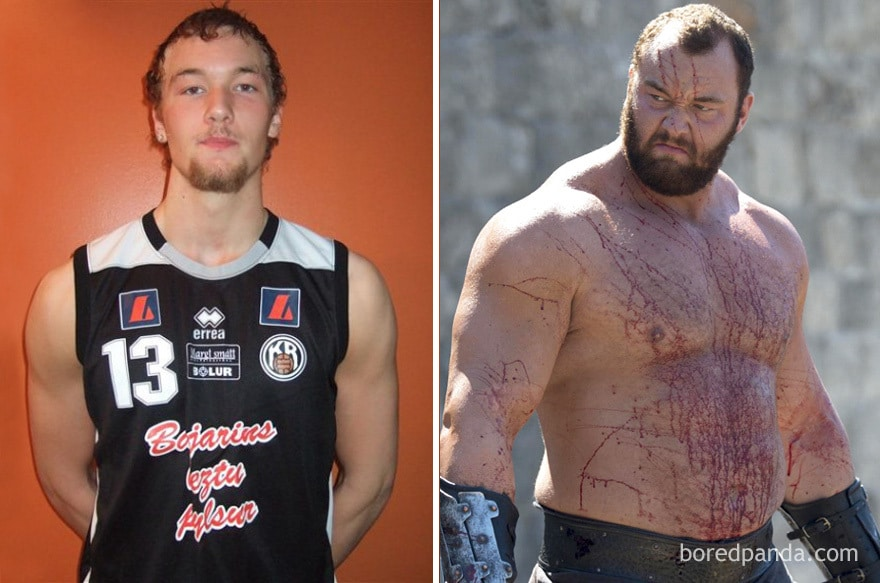 Young Hafþór Júlíus Björnsson And As The Mountain (in Got)