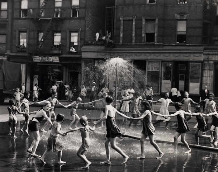 Kids Dancing In The Street, New York, 1964
