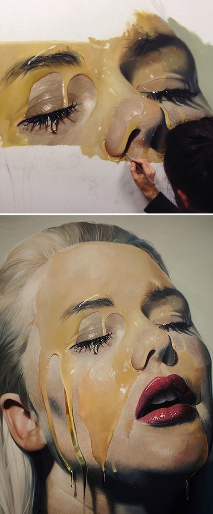 Oil Painting By Mike Dargas