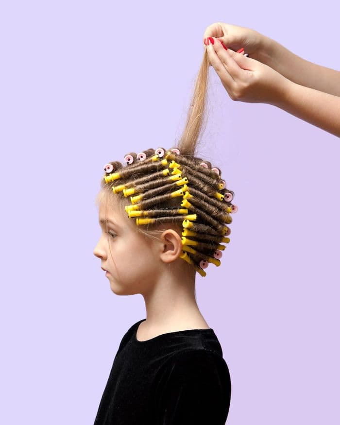 In Nebraska, It's Illegal For A Parent To Perm Their Child's Hair Without A State License