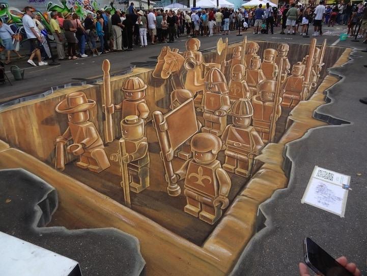 3D Illusion Art
