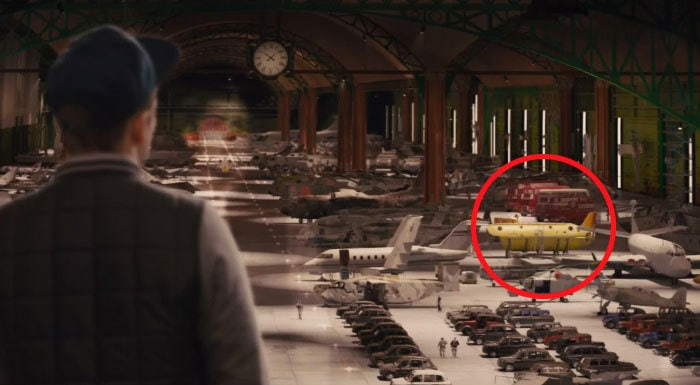 In The Vehicle Hangar In Kingsmen, (A Film About British Spies) One Of The Vehicles Is The Beatles