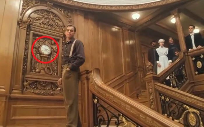 At The End Of Titanic, The Clock Says 2:20. Titanic Sank At 2:20 Am