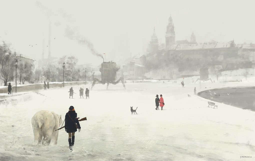 jakub-rozalski-1920-krakow-art1