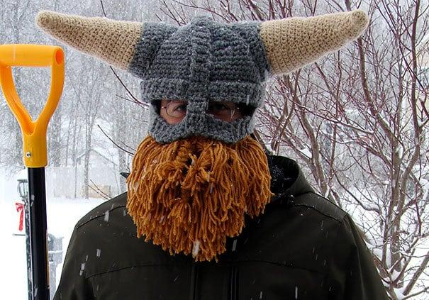 33 крутые вязаные шапки, чтобы выделиться из толпы этой зимой - 21