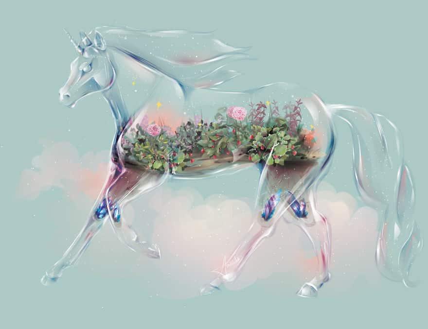 Showcasing Nature Within Glass Animals