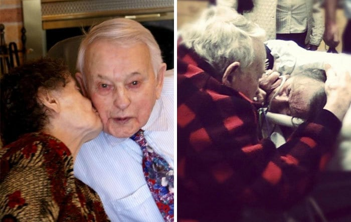 He Sang To Her Every Night Before Bed. Moments Before She Passed On, He Did The Same. 70 Years Of True Love