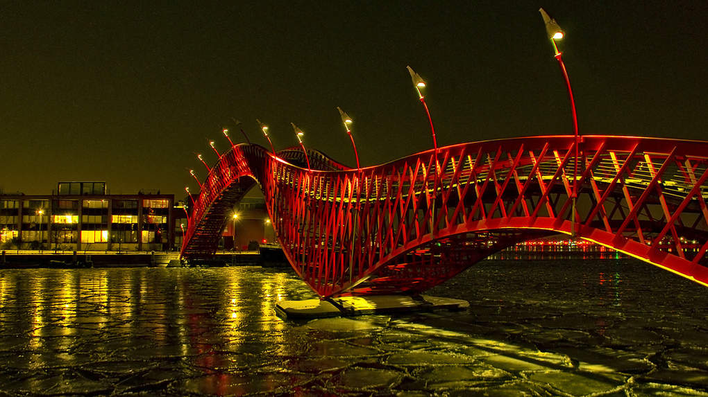 Картинки по запросу Мост Питон, Амстердам