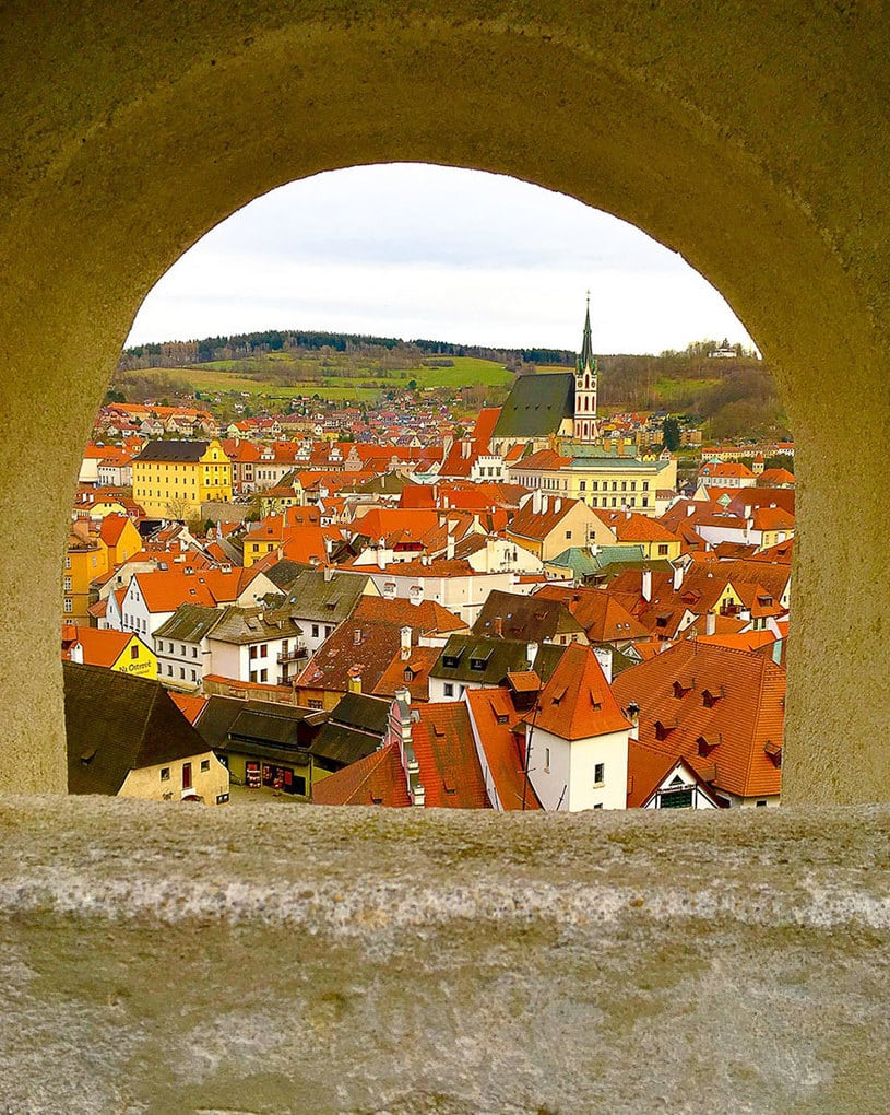 Archway To Cesky Krumlov, 2nd Place In Dare To Explore (US) By Alexia Saigh, Age 14