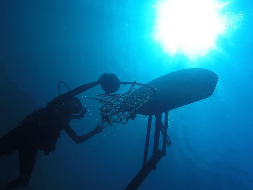 Underwater Basketball, 2nd Place In Weird But True (US) By Josephine Goldman, Age 13