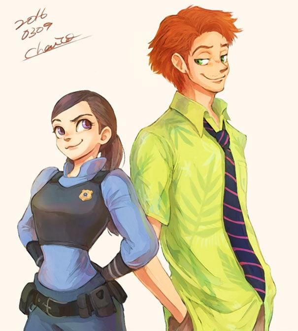 Джуди и Ник