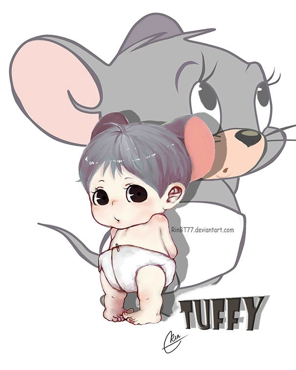 Tuffy Mouse от Tom And Jerry
