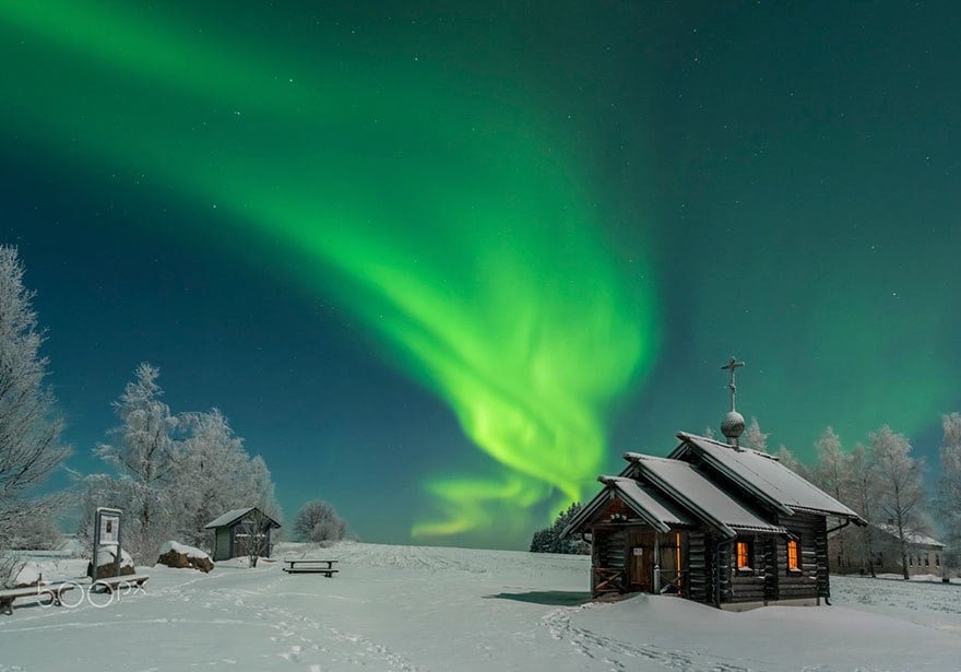 Finnish Lapland Winter Photography