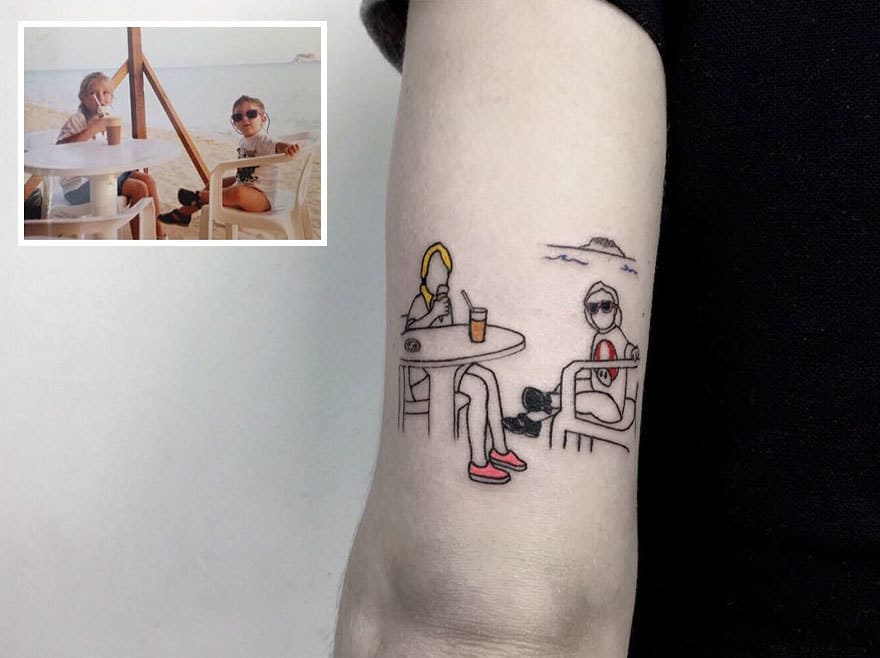 Photo Tattoo