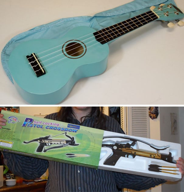 I Ordered A Powder Blue Ukulele For A 3-Year-Old For Christmas. I Don