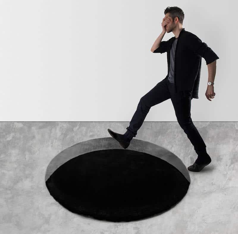 optical illusion rug Scott Jarvie (1)