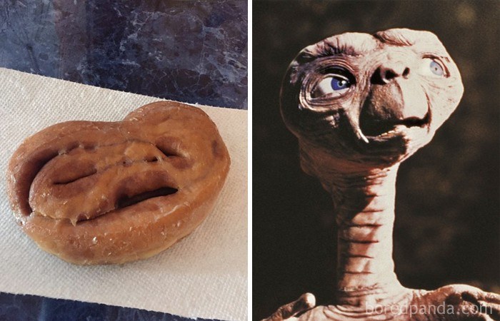 This Cinnamon Roll Looks Like An Anguished Et